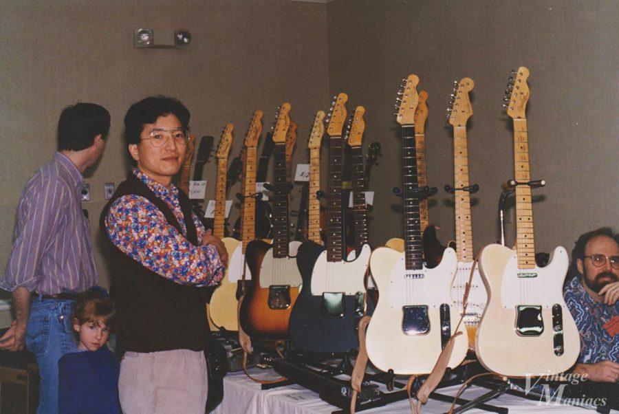 親子連れも多いアメリカのギターショー
