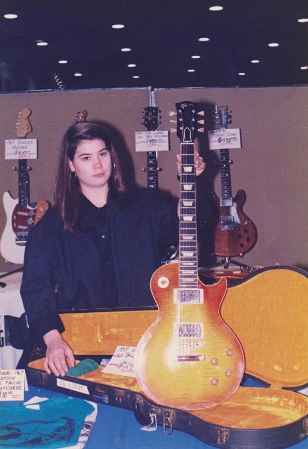 ギターショーで見かけたフルオリの59バースト