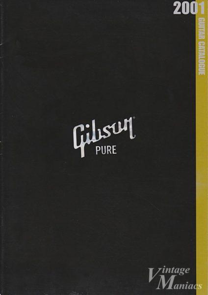 2001年のギブソンのカタログ