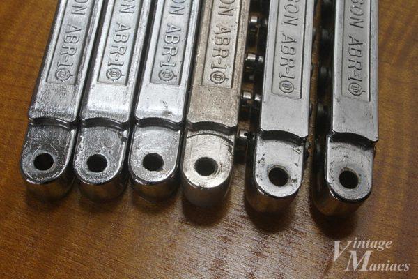 ニッケルメッキとクロームメッキのABR-1