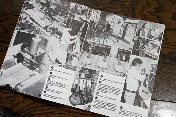 ギブソンの白黒のカタログ