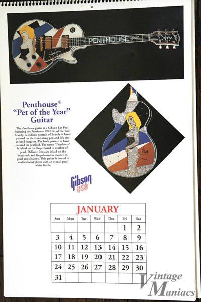 ペントハウスとコラボしたカスタムショップのギター