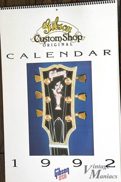 1992年のギブソンのカレンダー