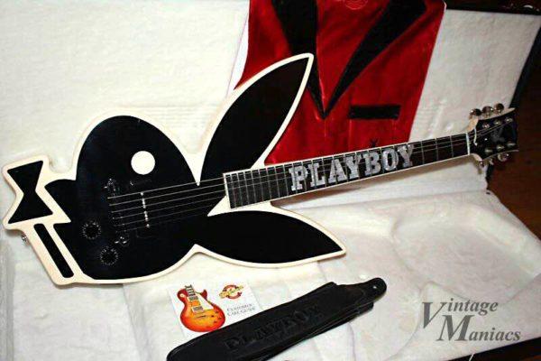 プレイボーイとギブソンのコラボギター