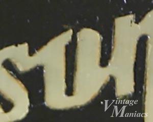 50年代初期のGibsonロゴ