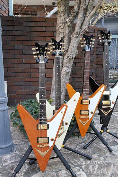 ギブソンのギターオブザウィークで登場したリバースV
