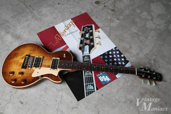 Heritage Guitarsのギターとポスターカタログ