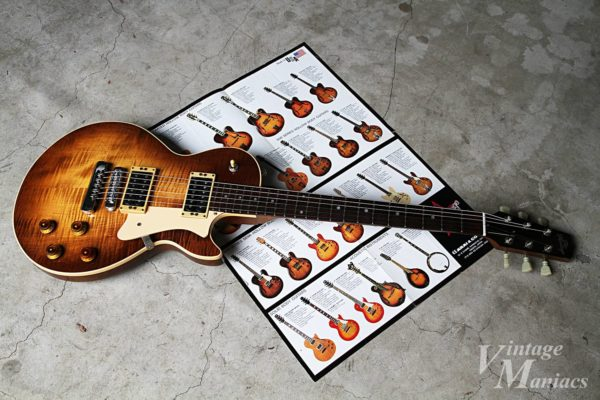 Heritage Guitarsの当時のラインナップ