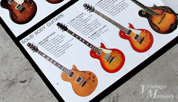 Heritage Guitarsのゲイリー・ムーア・モデル