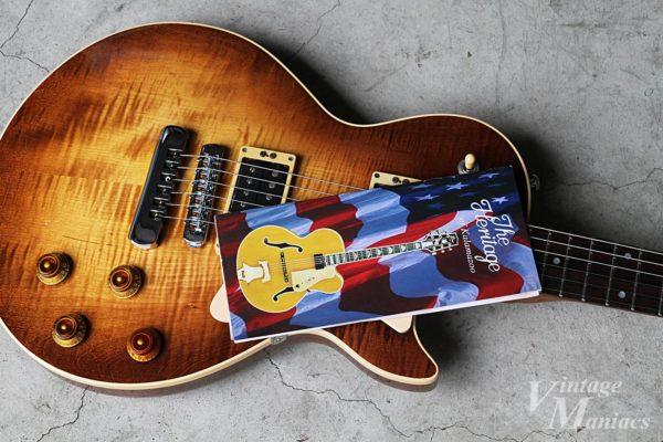 ブックレットタイプのHeritage Guitarsのカタログ