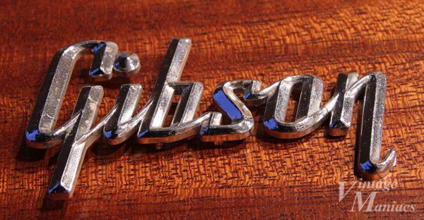 Gibsonのレイズドロゴ