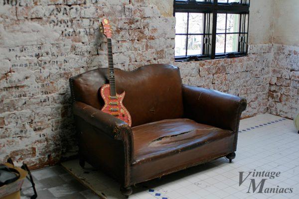 目黒のスタジオEASEで撮影したGTZ Guitar
