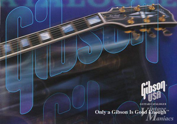 99年のギブソンのカタログの表紙