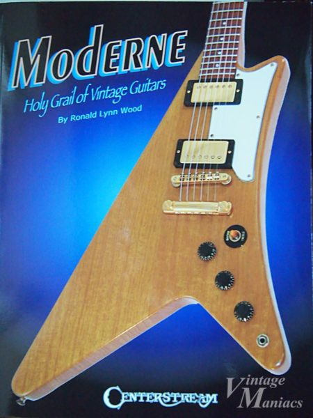 Moderne: Holy Grail of Vintage Guitarsの表紙