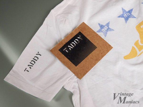 ステンシルでプリントしたTシャツ