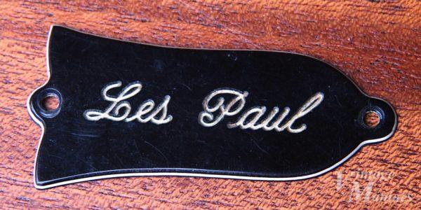 何に搭載されたか不明のLes Paulロッドカバー