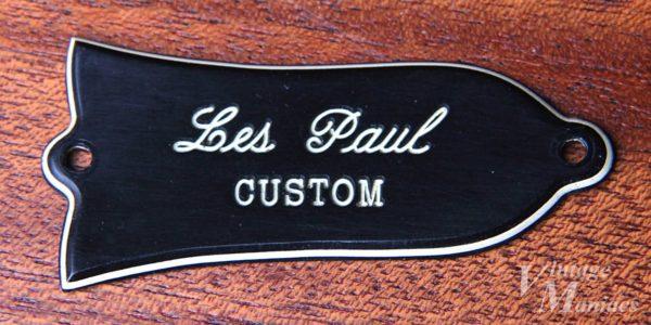 Les Paul CUSTOM刻印のロッドカバー