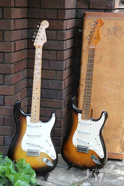 60年ぶりに再開したフェンダーの2本のギター