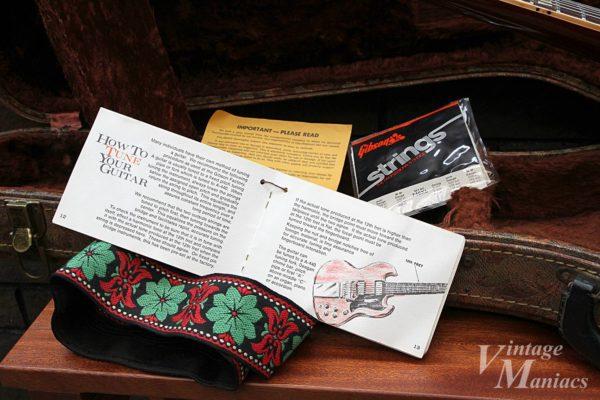 ギブソンのギターに付属のブックレット