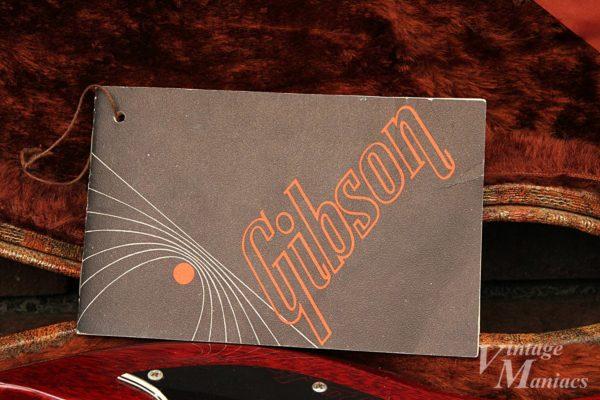 黒とオレンジのギブソン・ロゴ