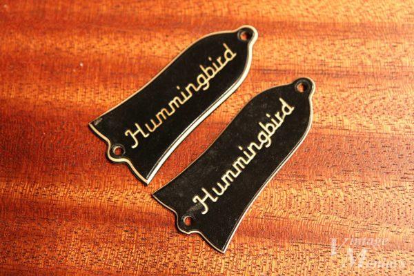 2枚ならべたHummingbirdのロッドカバー