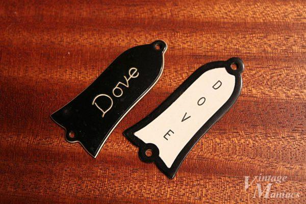 Gibson Doveの2種類のトラスロッドカバー