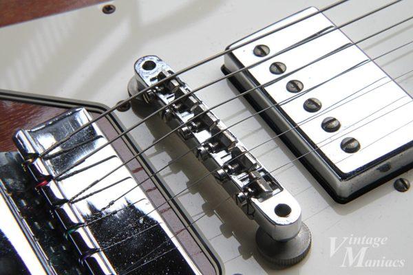 フラッドヘッド・サドルのABR-1を搭載したギター