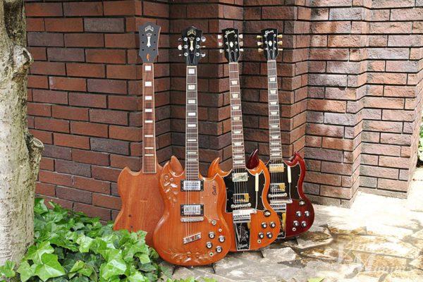 Gibson SGとGuild S-100