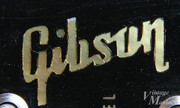 ヘッドストックのGibsonロゴ