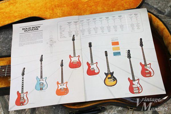 エピフォンのソリッドギターのラインナップ