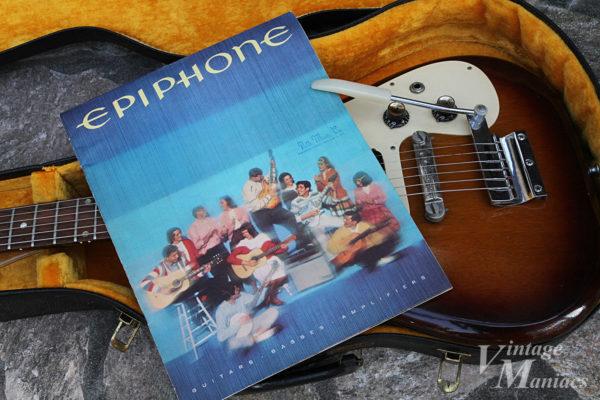 エピフォンの製品カタログの表紙