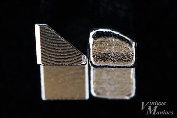 シャープヘッドとフラットヘッドのサドル比較画像