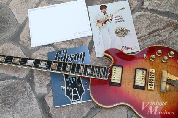 Gibson L-5Sとギブソンのカタログ