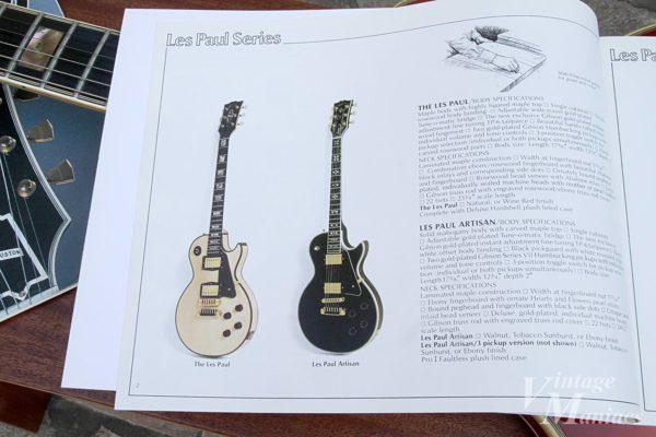 Gibson L-5Sと同じカタログに掲載された高額なThe Les Paul