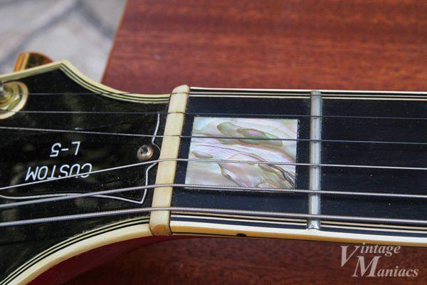 Gibson L-5Sのナット