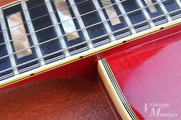 Gibson L-5Sのバインディング