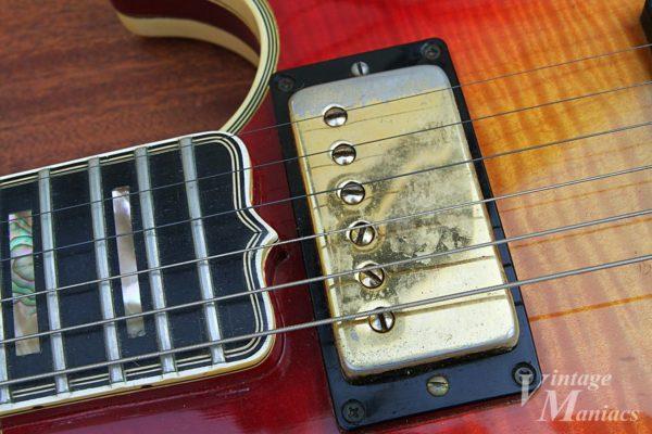Gibson L-5Sのピックアップカバー