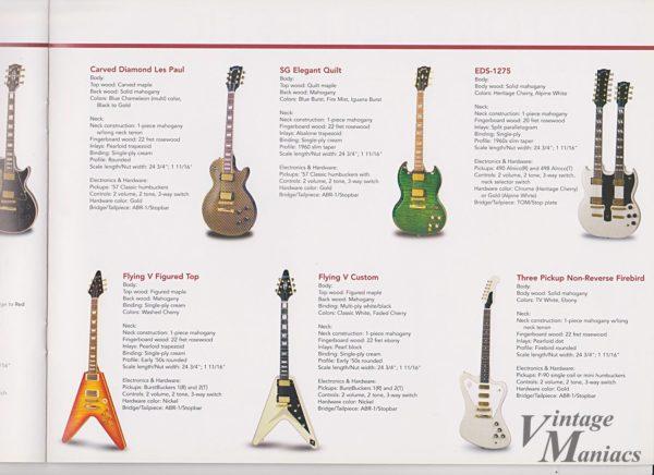 2004年のGibsonダブルネックギター