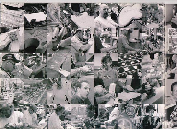 カタログに掲載されたGibsonの工場