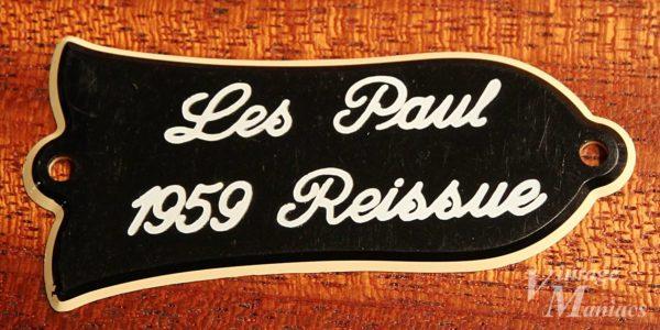 Les Paul 1959 Reissueのロッドカバー