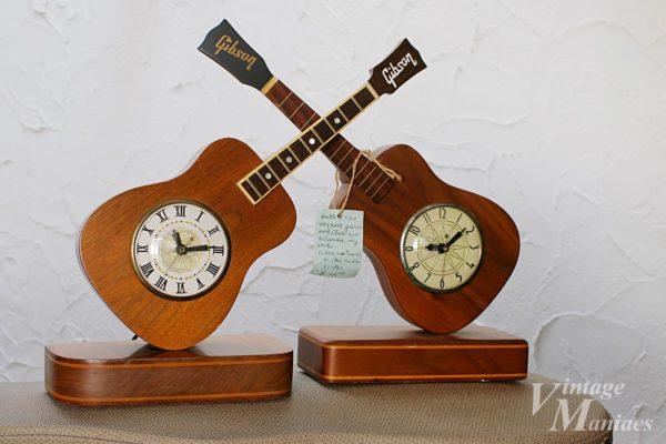 ギブソンの退職記念の時計