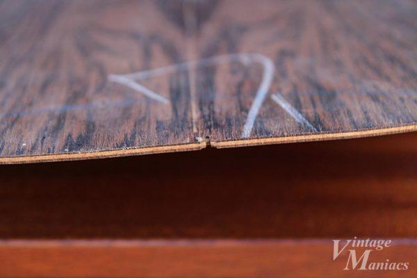 カラマズー工場で使われていたバック用の木材