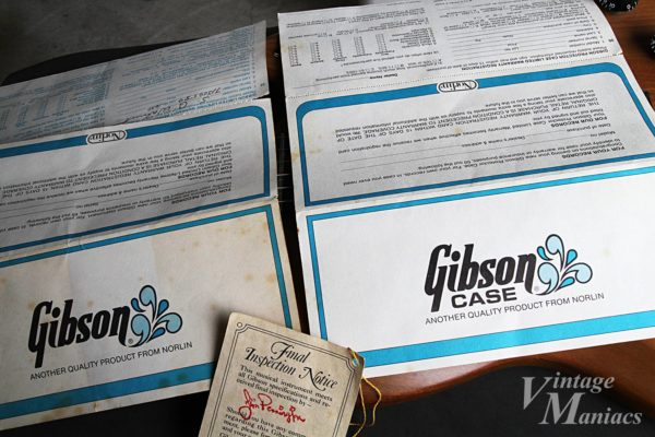 Gibson The SGの保証書