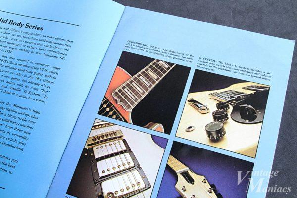 L-5Sのインレイを紹介するカタログのページ