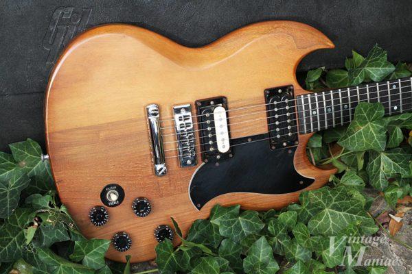 Gibson The SGのウォルナット・ボディ