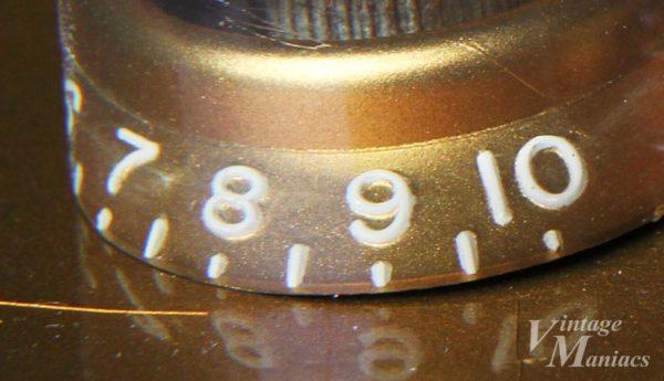ギブソンのヴィンテージノブの数字