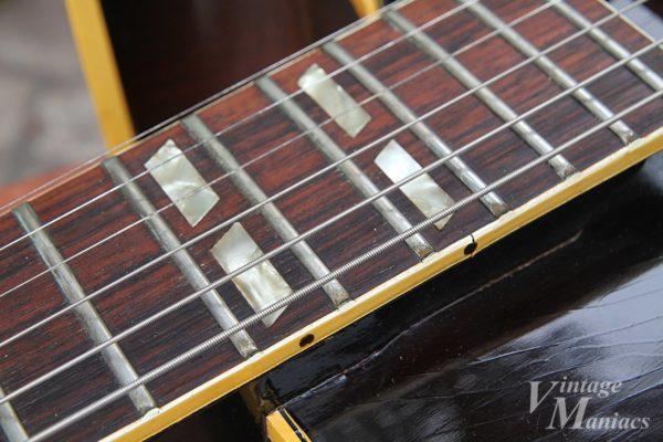 Gibson ES-175の指板のインレイ