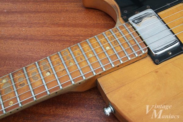 Gibson L-6Sの指板
