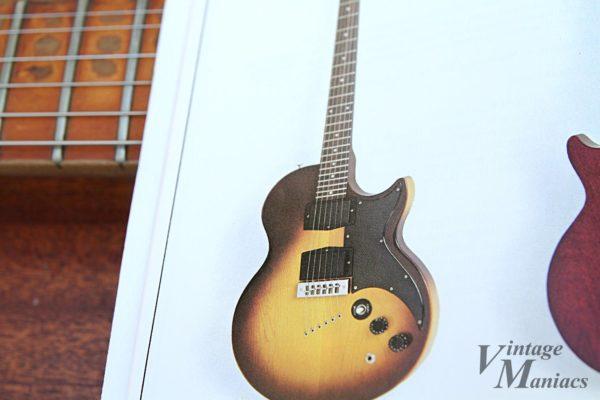 Gibson L-6S Midnight Specialが掲載されたカタログ
