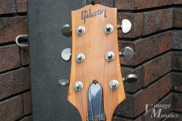 Gibson L-6Sのヘッドストック